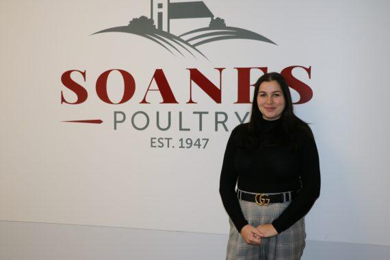 Petra Kdr from Soanes Poultry
